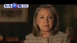 Cựu Ngoại trưởng Mỹ Hillary Clinton ủng hộ hôn nhân đồng tính