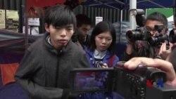 香港绝食学生领袖:甘以青春赌民主