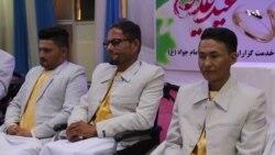 جشن عروسی گروهی سه زوج جوان در هرات