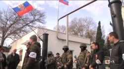 Storming of Ukraine's Naval Headquarters in Crimea Heightens Tensions