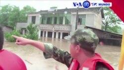 Manchetes Mundo 05 de julho de 2016 - 130 pessoas morreram na China devido a inundações.