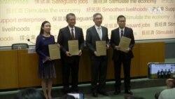 香港公佈民主派議員總辭後的首份財政預算