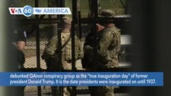 VOA60 Ameerikaa - Security Tightened Amid 'Possible' Militia Plot to Breach US Capitol