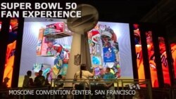 Fans Flock to 'NFL Experience' in San Francisco to Run Drills