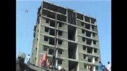 印度南部建造中居民樓倒塌11人死