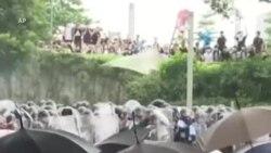 Biểu tình tiếp diễn ở Hong Kong