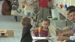 Suriye'de Çocuk Felcine Karşı Aşı Kampanyası