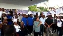 Ayiti- Eleksyon: Kandida Pati Fanmi Lavalas pou Pòs Prezidan Peyi Dayiti, Dr. Maryse Narcisse nan Fò-Libète