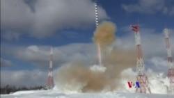 俄羅斯再試射新型洲際彈道導彈'薩爾馬特'
