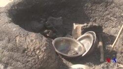 A Najeriya, Gobara Ta Lakume Rumfunan 'Yan Gudun Hijira 232, A Sajeri Dake Muna A Jihar Borno