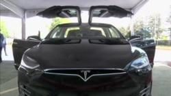 Espectacular Modelo X de Tesla