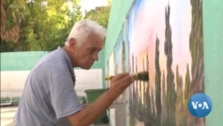 Palestinian Refugee Uses Art to Enliven Refugee Camp in Lebanon