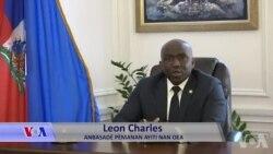 Abasadè Ayiti nan lOEA Leon Charles Pale Kijan COVID 19 la Afekte l