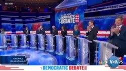 Prezidentlikka demokrat nomzodlar orasida debat