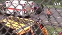 ԱՌԱՆՑ ՄԵԿՆԱԲԱՆՈՒԹՅԱՆ. Նյու Ջըրզիում դպրոցական ավտոբուսի վթարի հետևանքով երկու մարդ է զոհվել