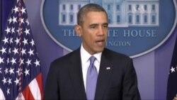 """Обама про першу """"чергу"""" санкцій за Крим"""