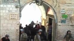 درگیری میان فلسطینی ها و ماموران اسرائیل