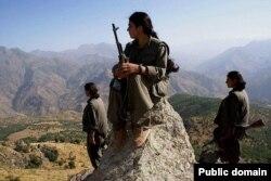 PKK döyüşçüləri