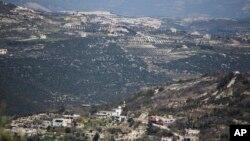 Tư liệu - Biên giới Thổ Nhĩ Kỳ - Syria nhìn từ Kinsibba