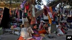 APTOPIX India Davos Inequality