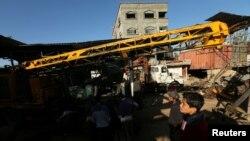 Cuatro estructuras pertenecientes a Hamas fueron dañadas en los bombardeos del miércoles por la noche.