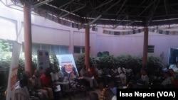 Conférence de presse du comité d'organisation du Fespaco, Ouagadougou, Burkina, 16 janvier 2017. (VOA/Issa Napon)