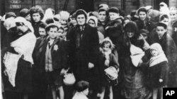 Немецко-фашистский концентрационный лагерь Освецим. Май-июнь 1944 г.