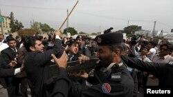 23 اپریل کو راولپنڈی کا ایک منظر