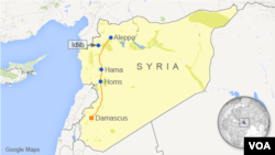 Idlib, Suriah