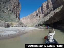 National parks traveler Mikah Meyer found the massive cliffs towering over the Rio Grande river spiritually uplifting.