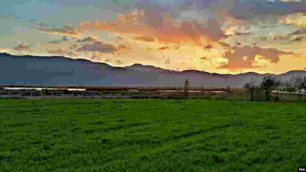 مریوان، دریاچه زریبار عکس: فرید آریایی (ارسالی شما)