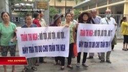 Nhà hoạt động Trần Thị Nga bị tuyên án 9 năm tù