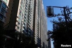 김정남이 가족과 거주했던 것으로 알려진 마카오 노바시티 아파트.