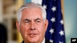 Chèf Diplomasi ameriken an, Rex Tillerson.