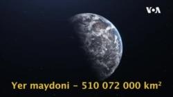 """22-aprel """"Umumjahon Yer kuni"""" sifatida nishonlanmoqda."""