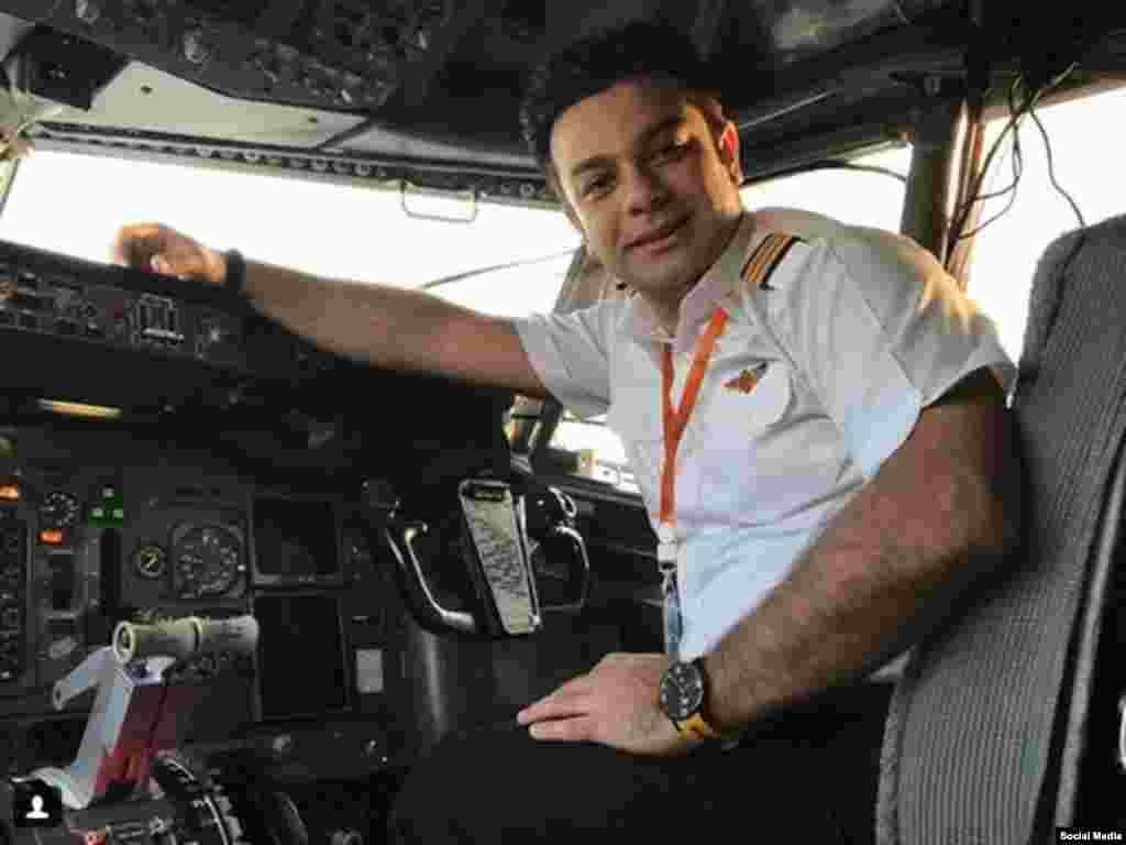 خلبان امین امیرصادقی خلبان که منتقد وضعیت ایمنی هواپیماها در ایران بود، بازداشت شد.