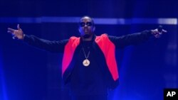 Sean 'P. Diddy' Combs performs at Day 2 of the 2015 iHeartRadio Music Festival at the MGM Grand Garden Arena in Las Vegas, Nevada, Sept. 19, 2015.