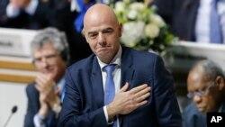 گیانو انفاتینو، رئیس جدید فیفا