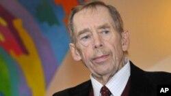 FILE - Former Czech president Vaclav Havel