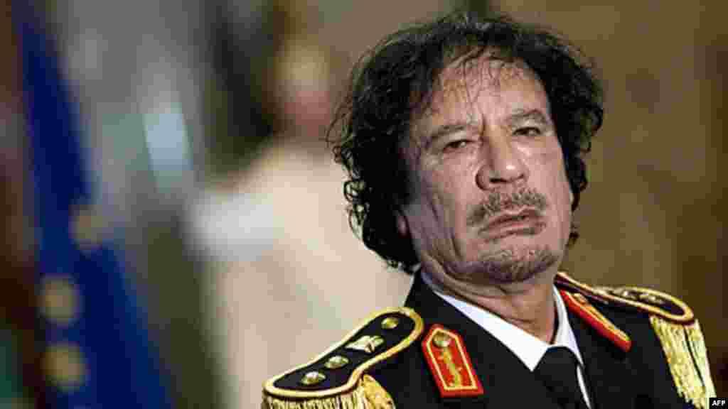 Le colonel Mouammar Kadhafi avait pris le pouvoir par un coup d'Etat en septembre 1969.