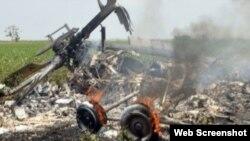 Qarakənd yaxınlığında vurulan helikopter