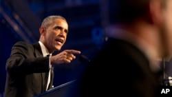 En un discurso en la gala del Caucus Hispano del Congreso en Washington, Obama enfatizó que espera tener resultados entre las elecciones de noviembre y el fin de 2014, independientemente si el Congreso vota por una reforma migratoria.