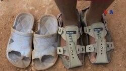 Giày lớn dần theo cỡ chân trẻ em