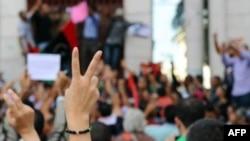 """Tổng thư ký NATO đưa ra một thông cáo gọi cuộc giải phóng Libya là một """"chiến thắng lẫy lừng"""" cho nhân dân Libya"""