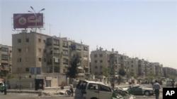 Şiddetli çatışmalara sahne olan Şam yakınlarındaki Filistin mülteci kampı