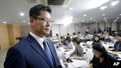 南韓統一部長官金煉鐵。