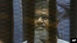 埃及前總統穆爾西。