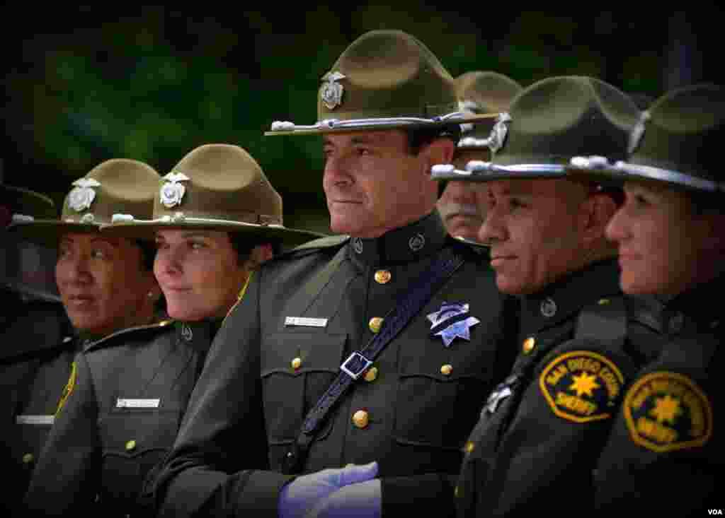 Полицейские из Сан-Диего