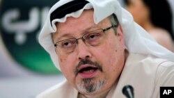 Mendiang jurnalis Saudi, Jamal Khashoggi, dibunuh di Konsulat Saudi di Istanbul, Turki.