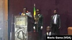 Mnangagwa At Polad